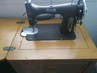 Domestic sewing machine & table Waldorf