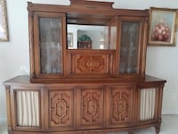 brown wooden cabinet with drawer Fairfax Station, 22039