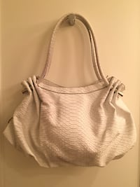The Limited White Croc Large Tote Handbag/Purse Darien, 06820