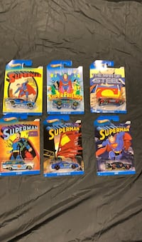 Superman hot Wheels set of six Gambrills, 21054