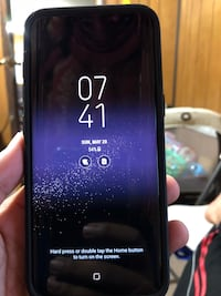 Black samsung galaxy s8 64 gb with black case. Only the phone no accessories included . Cash and meet up only. New York, 11418