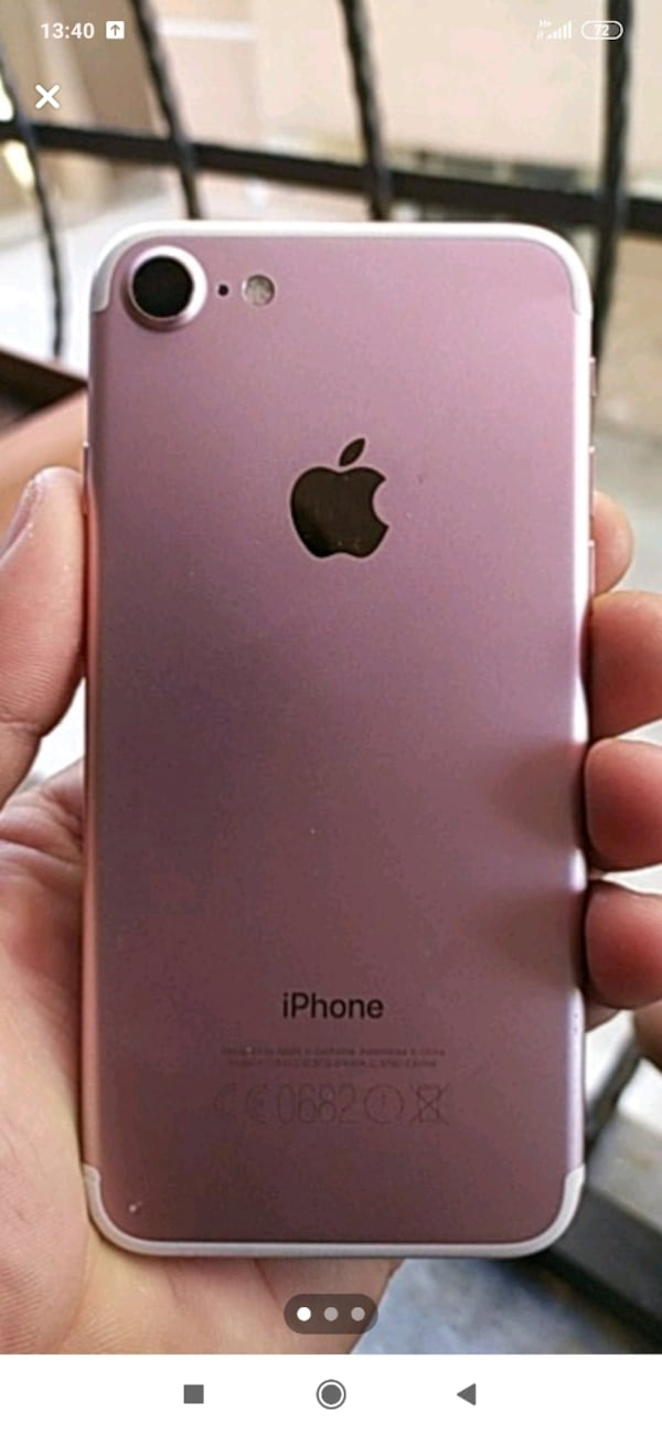 iPhone 7 Gold roze 2