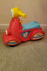 toddler's red and yellow ride on toy Arlington, 22207