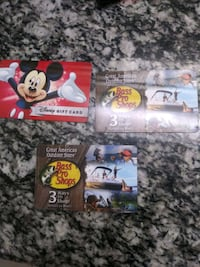 Never been used $25 Disney gift card and 2 $25 bass pro Houston, 77092