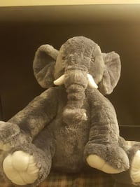gray elephant plush toy Ontario, M1P 1B3