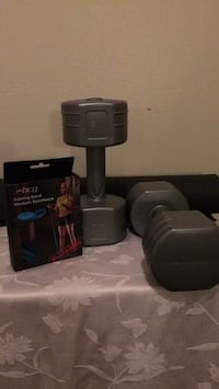7.5lb Dumbbells; Training Band and Gym mat Baton Rouge, 70816