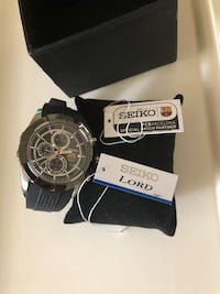 "Seiko Watch "" FCBarcelona "" Sterling, 20164"