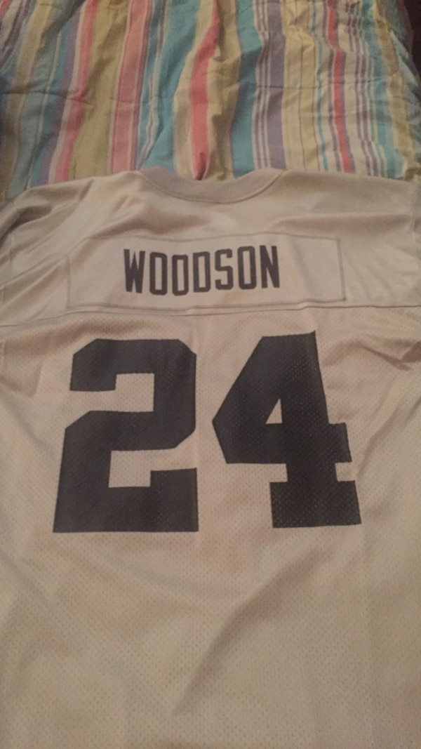 best sneakers 7a306 00758 grey and black woodson 24 jersey shirt