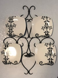 Kitchen wall sconce decor with plates  Riverside, 92503