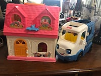Fisher Price Zlittle People Home and Camping RV Playset Newark, 19711