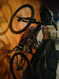 black and red full suspension mountain bike Silver Spring, 20906