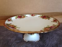 Royal Albert Old Country Roses Pedestal Cake Stand Sherwood Park, T8H 0W1