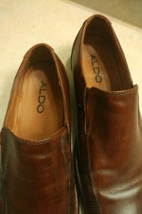 Aldo Slip on's Semi-formal Cognac Size 45/12 Men 1