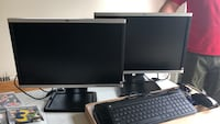 HP dual monitors (can be sold separately) Bensalem, 19020