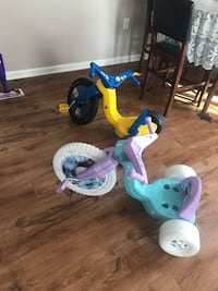 toddler's blue and pink trike Greensboro, 27401