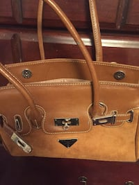 Purse, faux Prada Bag Suede New! Perry Hall, 21128