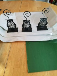 Owl picture frame or wedding table number holders Adamstown