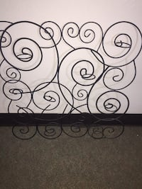 black metal scrolled wall decor Corcoran, 93212