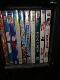 Miscellaneous DVDs. $2 each, 3 for $5 or 6 for $10