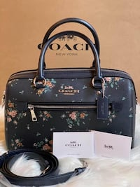 Coach Rose Bouquet Rowan Satchel