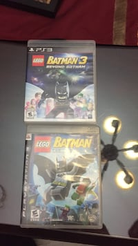 Batman 1 and 3 for PS3