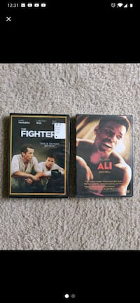 The Fighter and ALI Brand New DVDS Never Open Silver Spring, 20904