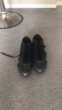 Pair of black soccer shoes Edmonton, T6T 1N6