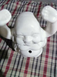 male white ceramic figurine