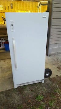 white single-door freezer Pittsville