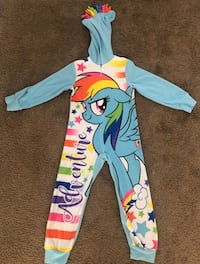 Little girl size 4/5 my little pony pajamas