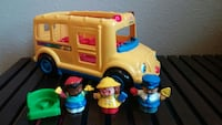 2002 Little People School Bus by Fisher-Price