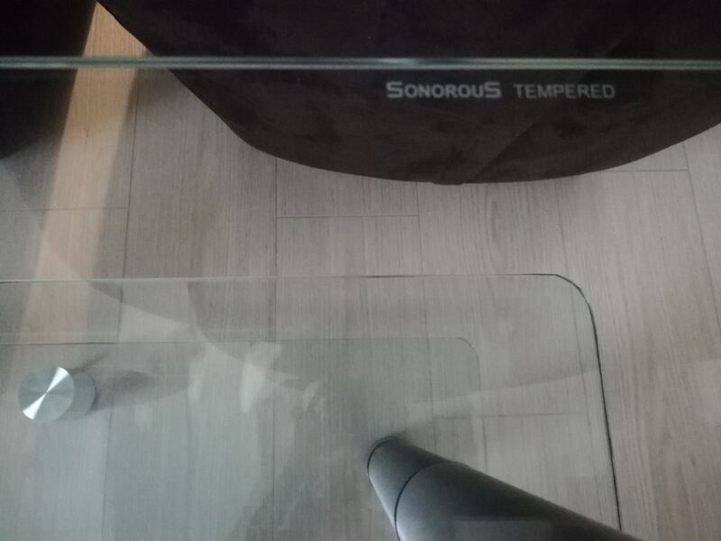 Sonorous tempered TV sehpası 38738416-a401-4711-a856-5e971f898bf3