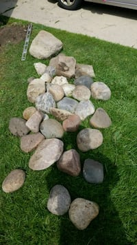 Nice assorted field stone Racine, 53402