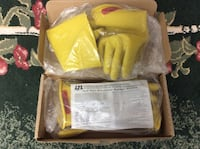 one pair yellow electric rubber gloves Brantford, N3R 7A7
