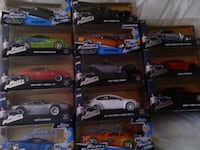 Fast and furious model cars