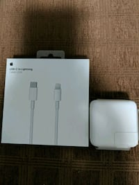 iPhone X and Max quick charger new never used 29 w Vancouver, V5S 2Z8