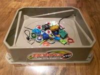 Beyblade spinners and
