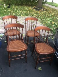 Woven seat chairs  Whitby, L1M 1E6