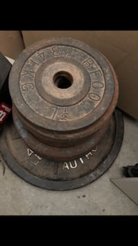 black and gray weight plate Chula Vista, 91915