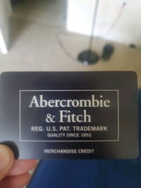 Abercrombie & Fitch 64 Dollar Gift Card Owings Mills, 21117