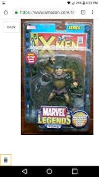 M.L extremely rare toad figure from series 1 Albuquerque, 87107