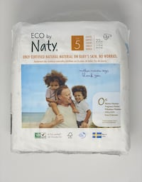ECO by Naty Size 5 Diapers 3x22 Count - Natural Diapers Toronto, M1P 4V9