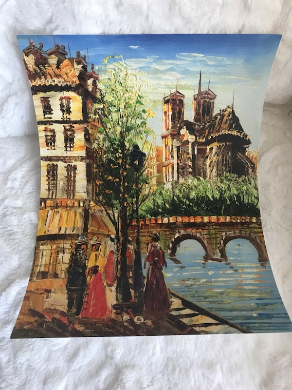 Wall Art purchased in Paris