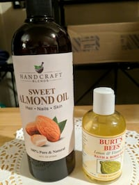 Set Sweet Almond Oil and Burt's Bees lemon and  Lansdowne, 21227