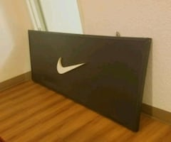 Super Rare 6ftX2.5ft Nike Swoosh Store Display Sign