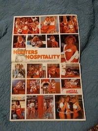Hooters calender South Elkhorn Township