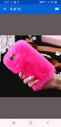 Furry Samsung Galaxy S7 phone case Brampton, L7A 3E1