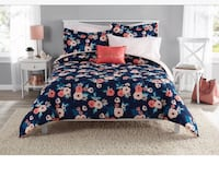 Mainstays Garden Floral Bed in a Bag Bedding Annapolis, 21226