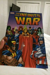 Infinity war comic book Airdrie, T4B 0J1