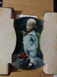 """""""The whistler"""" plate from the doll collection"""
